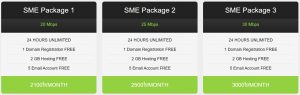 hashtag internet sme packages